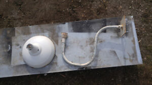 Large vintage outdoor lamps