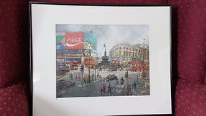 Coca cola H. Moss Picadilly Circus print