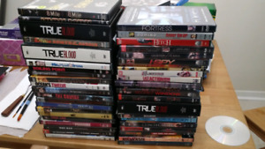 Dvd's $1 per dvd. $2 blueray and box sets