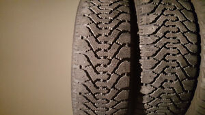205 55 16 good year winter tires x4