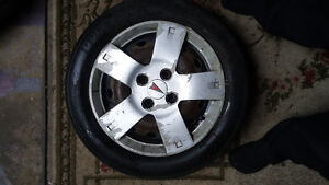 two I-pike 195/60r14 on rims