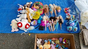 Toys, Plush Bears, Barbies, Puzzle - All for $25!