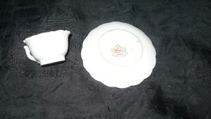 "VINTAGE ADORABLE MINIATURE ""LORD'S PRAYER"" TEA CUP & SAUCER Kitchener / Waterloo Kitchener Area image 7"