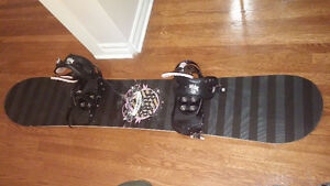 Ride Snowboard full kit incuding bindings boots and bag