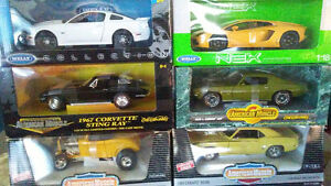 "1/18 Lot of 6 mixed cars ""new prices"""
