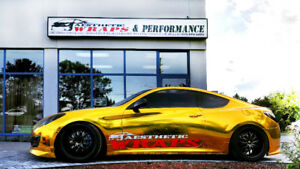 CAR VINYL WRAP & Performance Parts