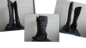 Knee high LADIES BOOTS
