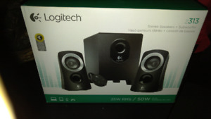 Speaker System with Sub Woffer