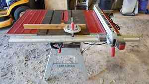 "Craftsman 10"" tablesaw"