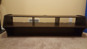 "Unused 58"" Wide Wall Mounted TV Stand"