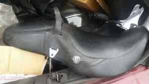 Trunk load of accessories for Harley Davidson Road King