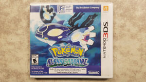 Pokemon Alpha Sapphire 3DS Game - SEALED NEW