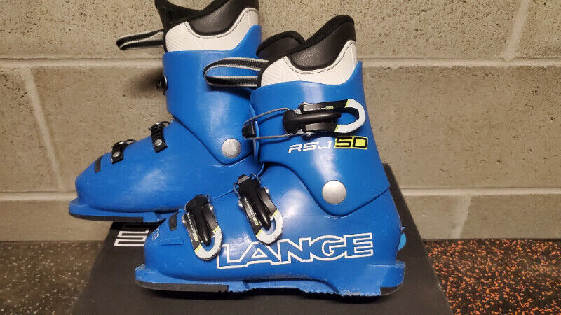 Lange rsj50 size 19.5 kids ski boots junior youth