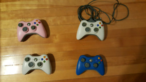 Manettes xbox360 controller 25$ chacune