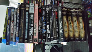 WWE DVDs and Blu-Rays For Sale. Pricing Listed