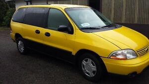 Wheelchair Van 208 Ford Windstar Wagon