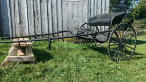Horse Drawn Road Buggy for Sale