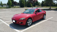 2005 Mazda RX-8 Red Clean