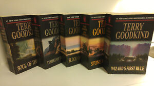Terry Good kind - The Sword of Truth books 1-5
