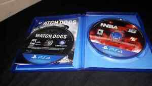 Watch dogs and Nba2k16 for $45