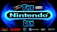 Come join the Nintendo Den for all your nintendo needs