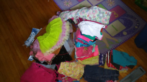 Girls size 4 and 5 toddler clothing