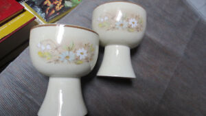 Royal Doulton cups(2),1977, 1988, Lambethware