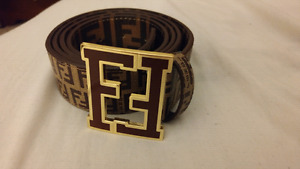 Fake fendi belt