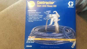 Graco contractor gun and hose kit NEW