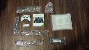 4GB Xbox 360 Console With 2 Controllers and Accessories