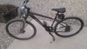 Reduced 2014 Specialized Medium Crossover Bike