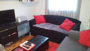 4 2/1 apt. with 2 closed Bedroom Metro Frontenac From 1st July