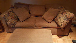 Sofa Bed set with Taboure
