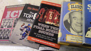 Various Hockey-Related Books