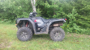 2016 Honda TRX 500 Rubicon.  Amazing deal !!!!