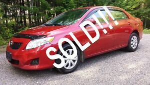 2009 Toyota Corolla  - SOLD!   SOLD!!   SOLD!!!