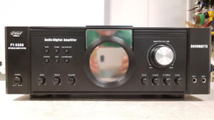 Pyle Home Stereo Amp W/ Mic Inputs