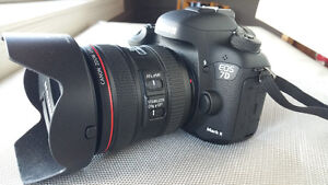 Canon 7D Mark II with Canon 24-70 F4 IS 11 - Only 650 Clicks.