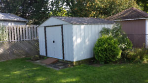 12 FT BY 10 FT STEEL SHED