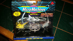 VINTAGE Micro Machines Factory sealed Deep Space Nine Star Trek.