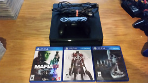 Ps4 slim mafia 3 bloodborne until dawn