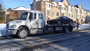 Fast Flatbed Towing Services- 647-795-3066