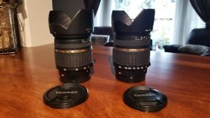 Tamron/Sony A-mount  Dynamic Duo - 17-50 2.8 & 18-200 3.5-6.3