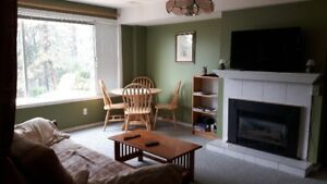 FURNISHED SUITE VERNON KELOWNA OKANAGAN UTIL WIFI CABLE TV INCL.