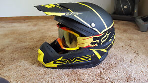EVS helmet and Fox Goggles. Reduced.