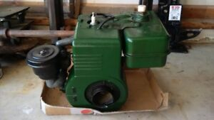 Briggs and Stratton 6B, 7hp engine.  Mid 50's model