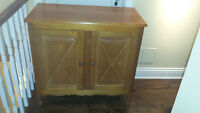 MUST SELL!  Moving in 4 days!  Quebecois Pine Hutch