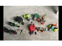 Various teenage mutant ninja turtle vehicles