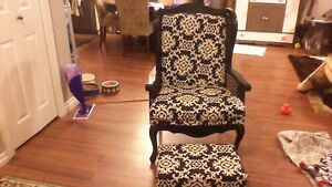 VINTAGE CHAIR REFINISHED