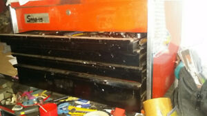 Snap On Old school Upper Cabinet Tool Box VGC.!